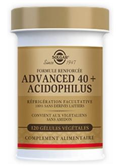 Advanced 40 plus Acidophilus - 120 gélules