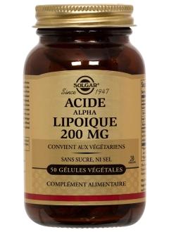 Acide Alpha-Lipoïque 200 mg