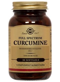 Full spectrum curcumine - 30 gélules