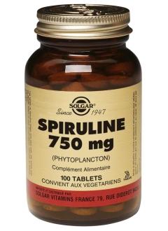 Spiruline 750 mg