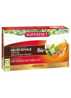 Gelée Royale, Miel, Pollen Bio