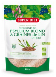 Psyllium + graines de lin Bio