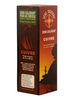 Soin colorant Cuivre - Aube Indienne