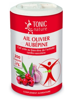 Ail + Olivier + Aubépine