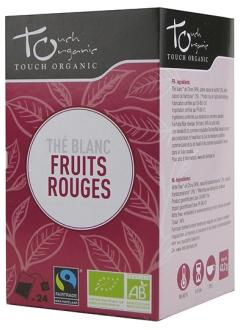 Thé blanc fruits rouges Bio