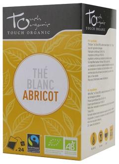 Thé blanc à l'abricot Bio