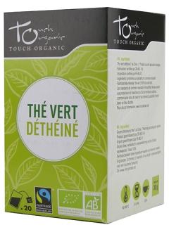 Thé vert dethéiné bio