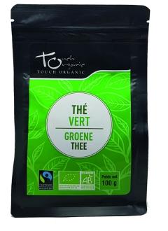 Thé vert bio en vrac