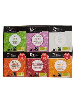 Assortiment de thés - 6 parfums
