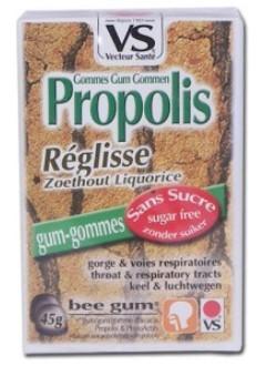 Gommes propolis réglisse Bio - Vecteur Santé