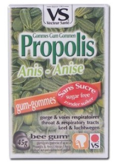 Gommes propolis anis