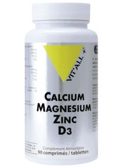 Calcium Magnésium Zinc D3