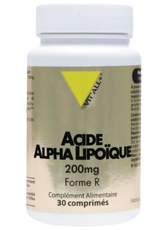 Acide Alpha Lipoïque 200 mg