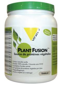 Plant Fusion Protéines végétales saveur vanille