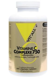 Vitamine C 750 mg - 250 comprimés