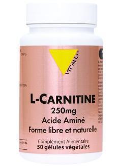 L-Carnitine 250 mg - 50 gélules