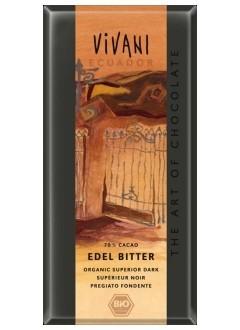 Chocolat Noir bio 70% cacao - Equateur