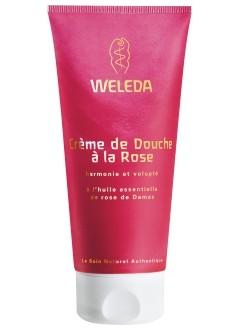 Crème de douche à la rose