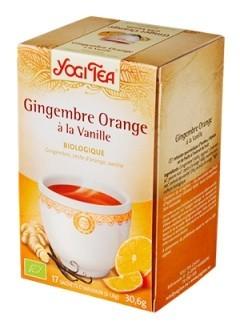 Infusion Gingembre Orange Vanille bio