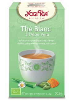 Thé blanc à l'Aloé vera BIO
