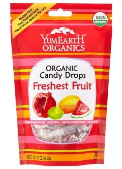 Bonbons bio aux fruits