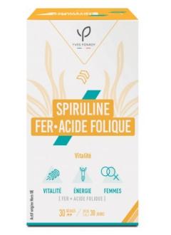 Spiruline, Fer et Acide folique