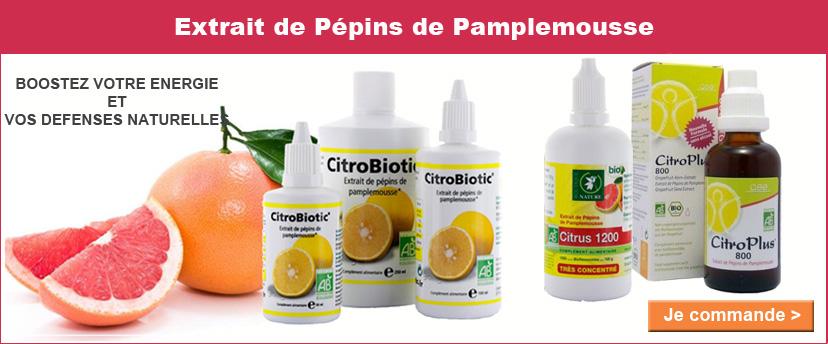 Préparez vos défenses immunitaires avec l'extrait de pépins de pamplemousse bio