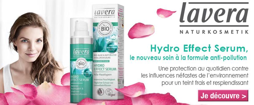 Découvrez la nouveauté Lavera, le sérum hydratant anti pollution