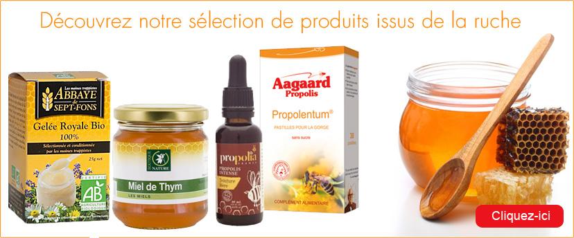 Découvrez la sélection Origine Naturelle de produits issus de la ruche