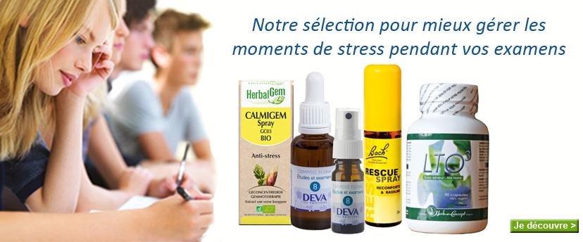 Nos solutions naturelles pour mieux votre stress durant les examens de fin d'année