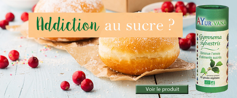 Le gymnéma Sylvestris Ayur-Vana diminue l'envie de sucre