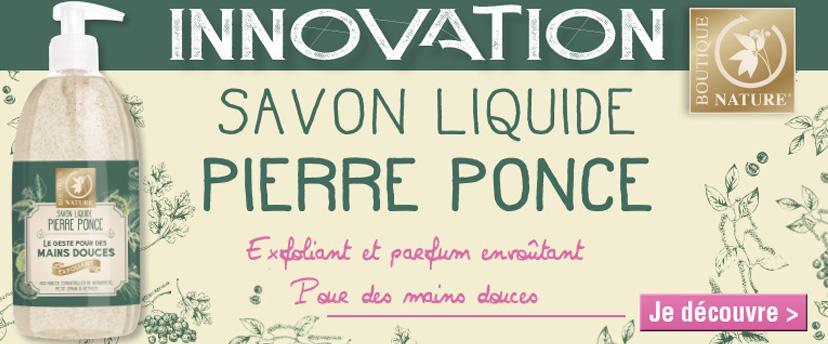 Nouveauté Boutique Nature : le savon gommant à la pierre ponce