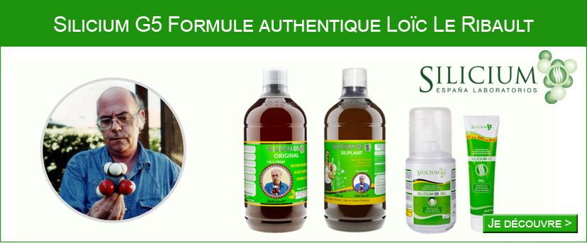 Testez la formule authentique du silicium organique G5 de Loïc le Ribault
