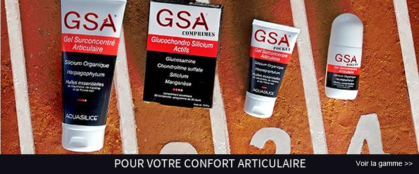 GSA, un gel super concerntré pour votre confort articulaire