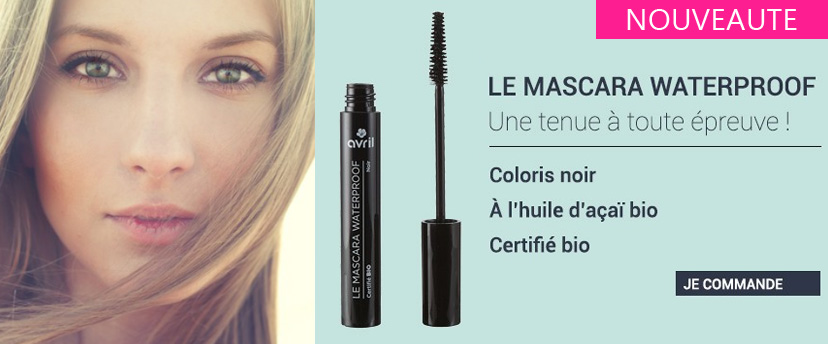 Nouveauté Avril Beauté, le mascara Waterproof