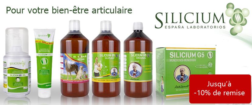 Retrouvez nos packs promo Silicium G5 par lot de 3, 6 et 12 unités