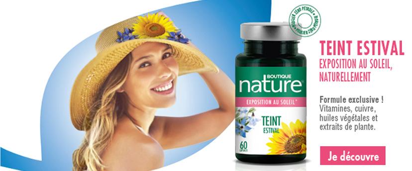 Teint Estival Boutique Nature, préparez votre peau au soleil
