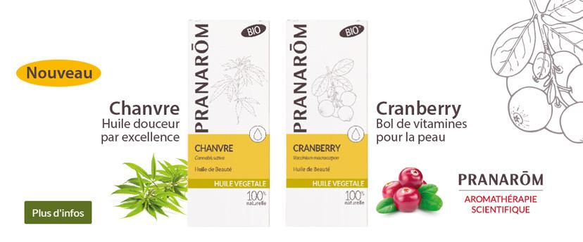 Nouvelles Huiles végétales Pranarom