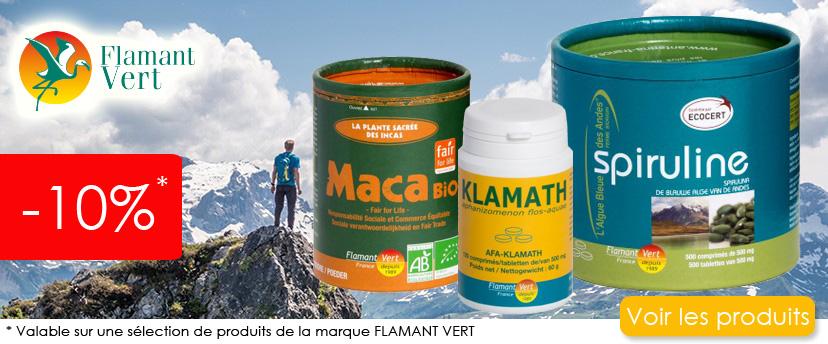 Promo sur une sélection de produits FLAMANT VERT