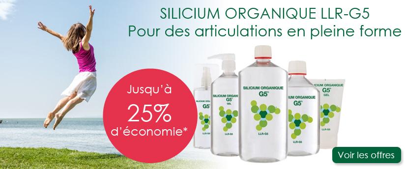 Promo sur le Silicium Organique G5 LLRG5