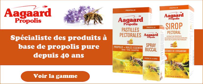 AAGAARD, spécialiste de la propolis depuis 40 ans