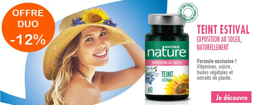 Offre duo Teint estival Boutique Nature