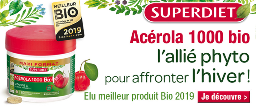 Acérola 1000 super diet