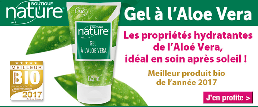Gel aloé véra Boutique Nature