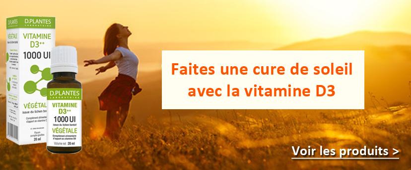 Faites le plein de soleil avec la vitamine D3