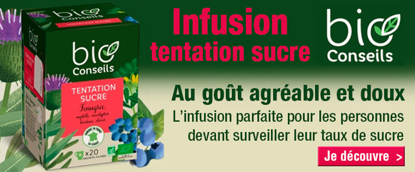 Infusion tentation sucre Bio Conseils
