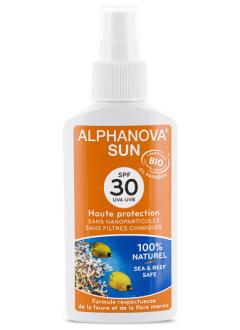 Protection solaire biologique SPF 30 en spray