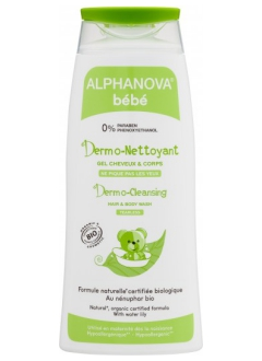 Dermo nettoyant cheveux et corps bio