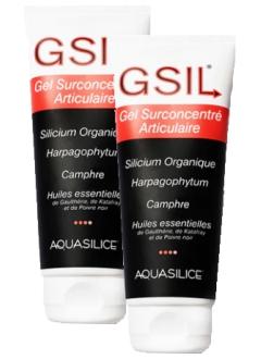 GeSIL - Gel Surconcentré articulaire - Lot 2 x 200 ml