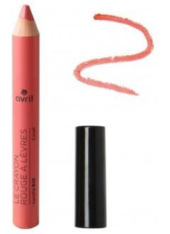 Crayon rouge à lèvres Corail bio